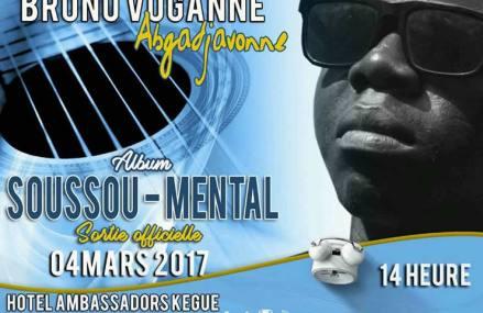 Togo : L'artiste Bruno Voganne lance un nouvel album