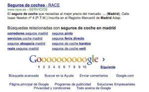 Herramienta de búsquedas relacionadas en Google