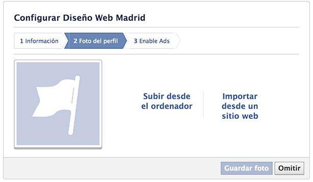 Abrir página de empresa en Facebook - Imagen