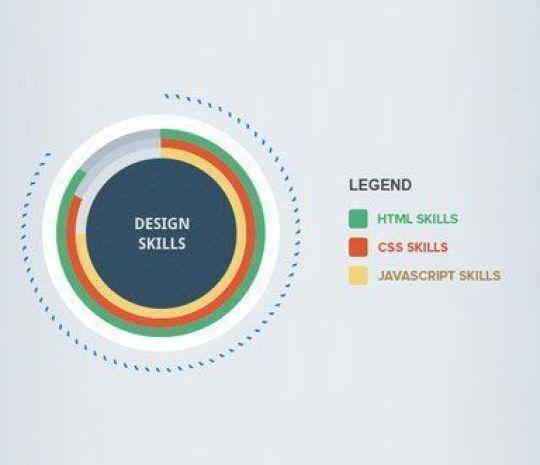 Simple Infographics PSD - Plantillas para infografías gratuitas