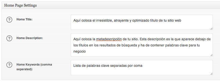Optimización SEO para WordPress - All in One SEO Pack