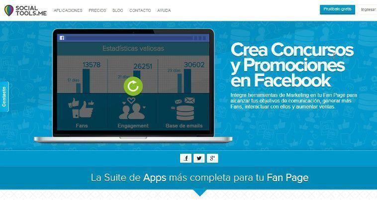 Socialtools - Promociones y Concursos para Facebook
