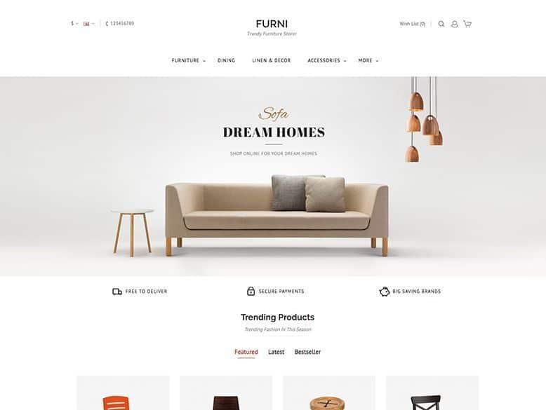 Modern - Plantilla OpenCart para tiendas online
