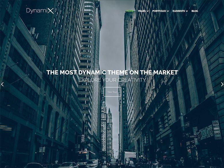 DynamiX - Plantilla WordPress para empresas y agencias