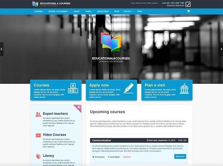 EDU - Plantilla WordPress para escuelas, colegios y universidades