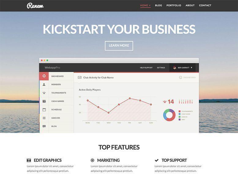 X - Plantilla WordPress para empresas y negocios