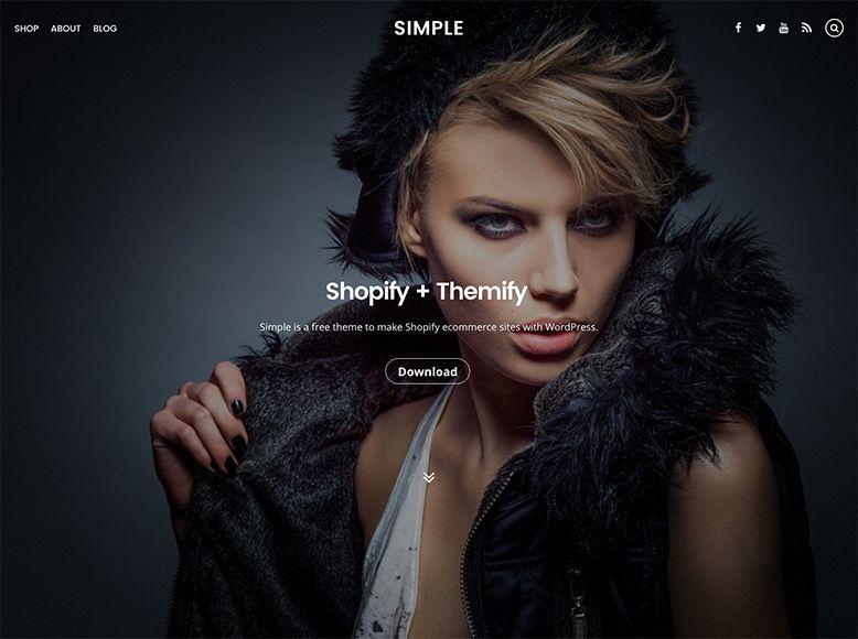 Simple - Tema WordPress gratis para tiendas online y blogs