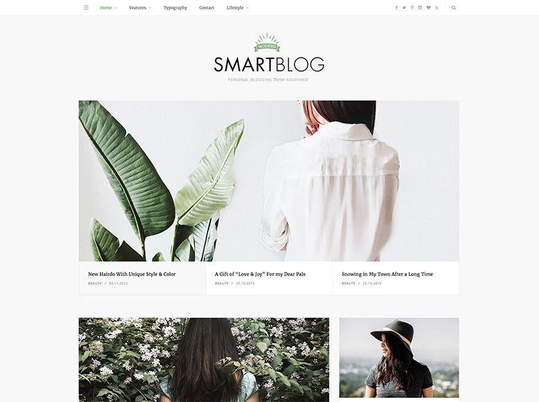 SmartBlog - Tema WordPress para blogs personales y de empresa