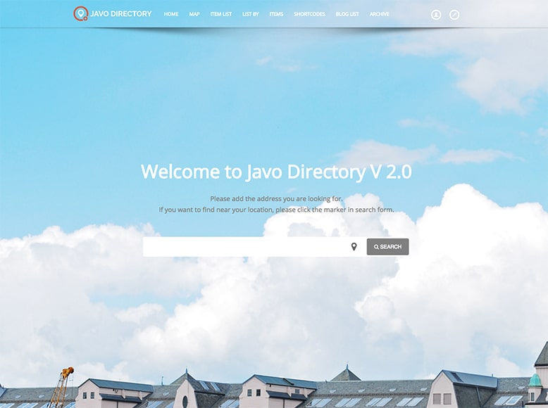 Javo - Plantilla WordPress para directorios de negocios locales o globales