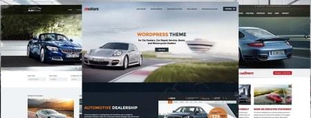 Mejores plantillas WordPress para concesionarios de coches