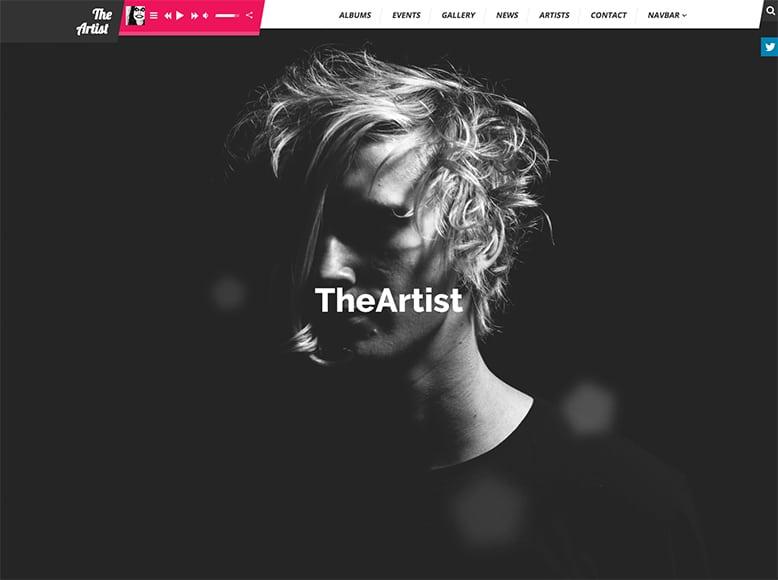 TheArtist - Plantilla WordPress ideal para la industria musical