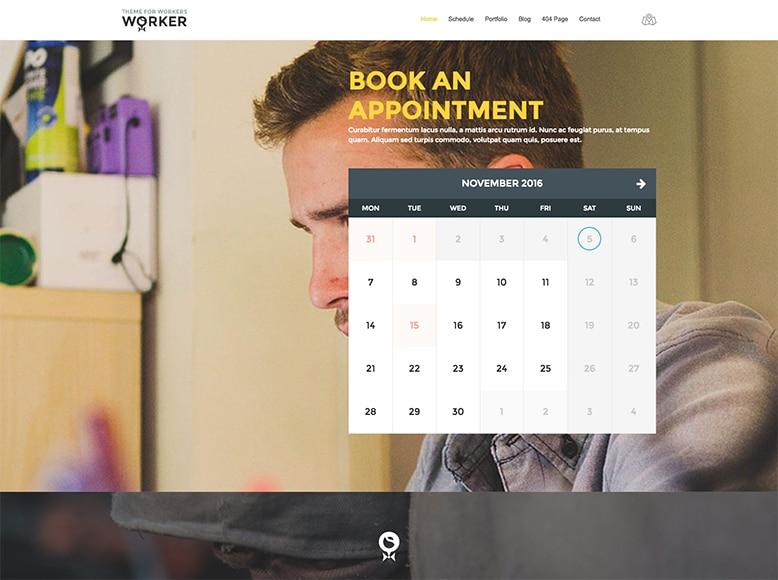 Worker - Tema WordPress para emprendedores, profesionales autónomos y pequeñas empresas