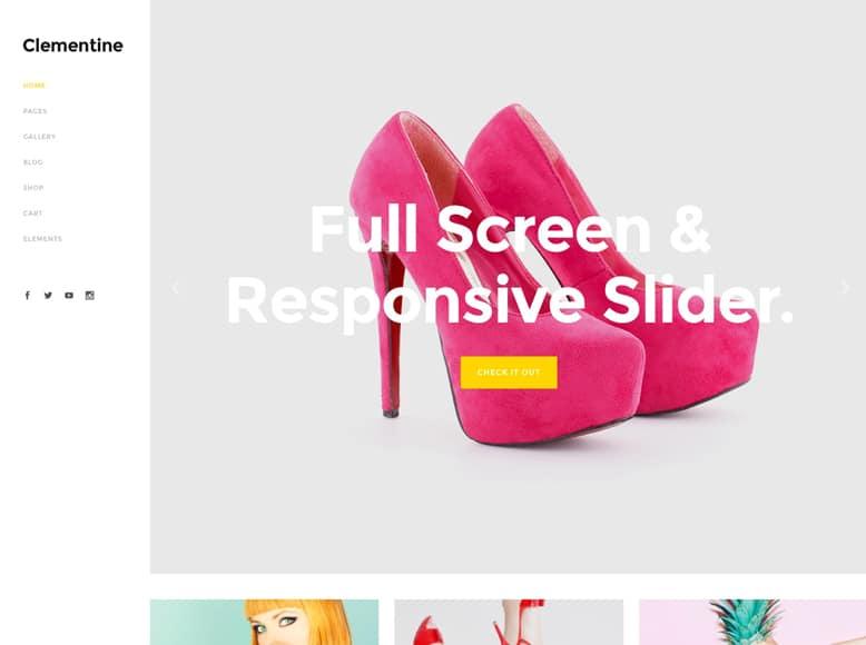 Capri - Plantilla WordPress moderna para blogs y tiendas online de mujeres