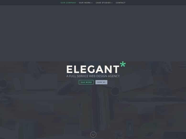 Divi - Plantilla WordPress para pequeñas empresas y startups