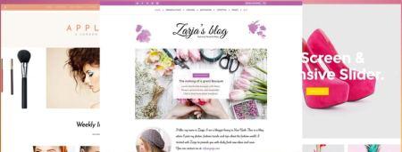 Mejores plantillas WordPress femeninas