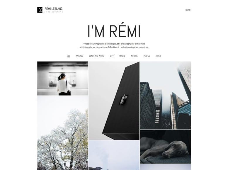 Kalium - Plantilla WordPress para portafolios de diseñadores, artistas, fotógrafos