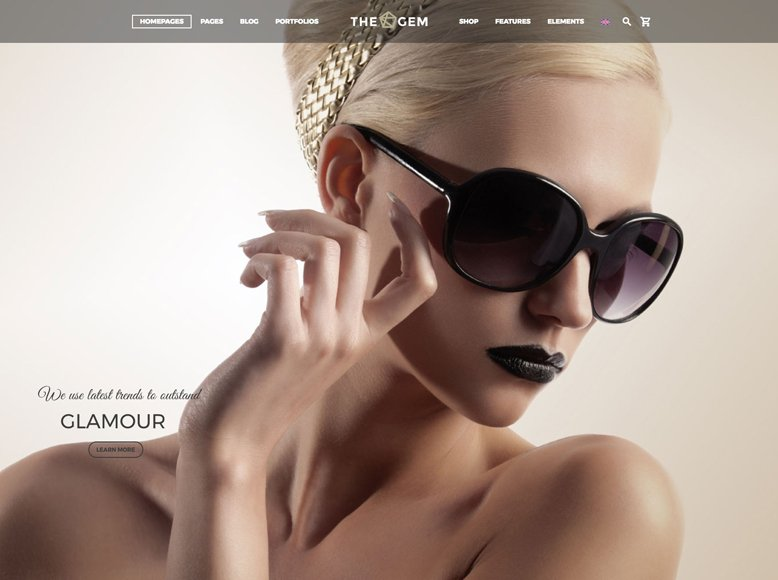 TheGem - Plantilla WordPress moderna para portafolios fotográficos y creativos