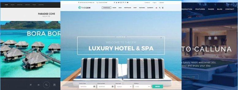 35+ Mejores Temas WordPress para Hoteles 2017