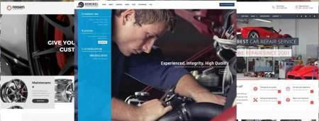 Mejores plantillas WordPress para talleres mecánicos de coches