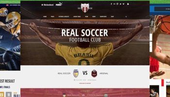 20+ Mejores Temas WordPress para Clubes Deportivos 4f84aaae9535c