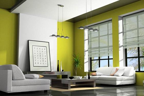 Living Room Painting Designs Ideas