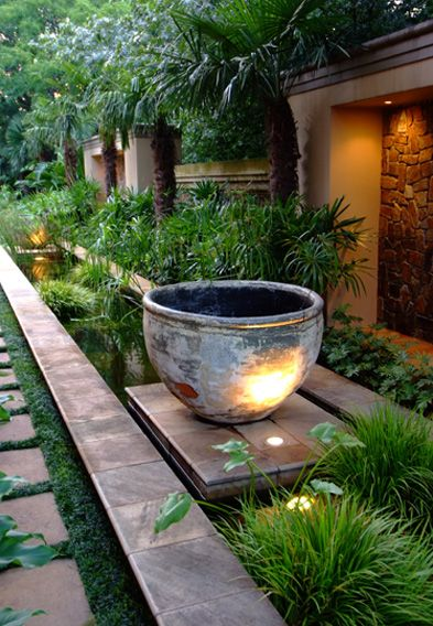 modern backyard water feature | http://lomets.com on Modern Backyard Water Feature id=56333