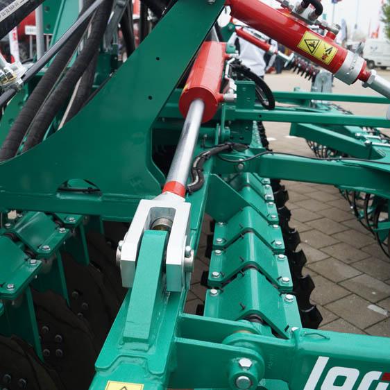 Maschinenbörse Lomma Sachsen Vorführmaschine Güllekurzscheibenegge