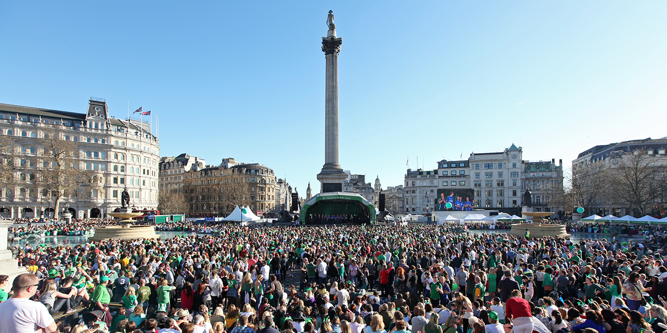 St Patrick's Day Festival and Parade 2016 | London City Hall