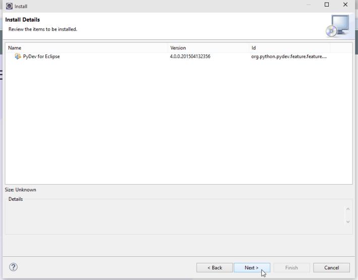 Eclipse Luna Install Software Screenshot