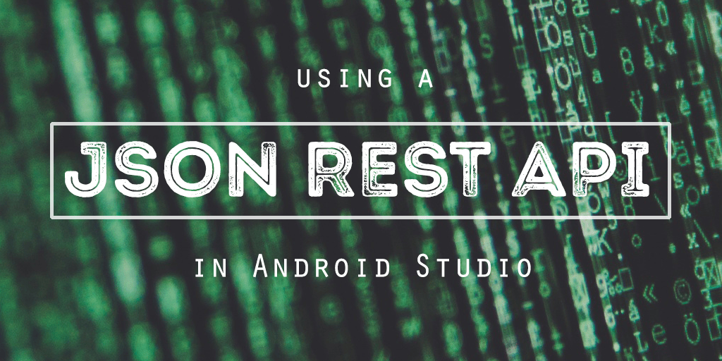 JSON REST API