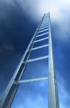 It's a long way to the top, but I'm climbing up steadily.