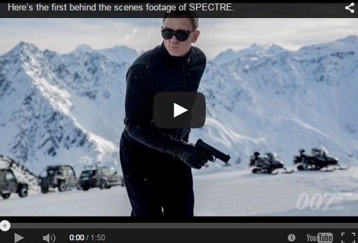 Spectre'tacular Mr Bond