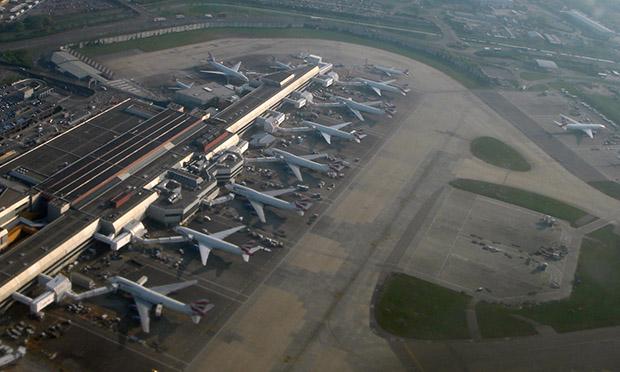 Heathrow Airport. Photograph: Mario Roberto Duran Ortiz