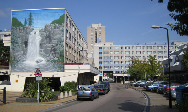 The Broadwater Farm Estate. © Copyright Nigel Cox and licensed for reuse under this Creative Commons Licence CC BY-SA 2.0