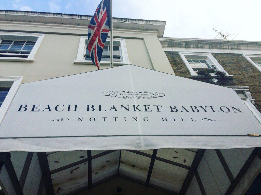 Beach Blanket Babylon Notting Hill London