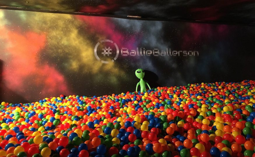Ballieballerson Ball Pit Bar London