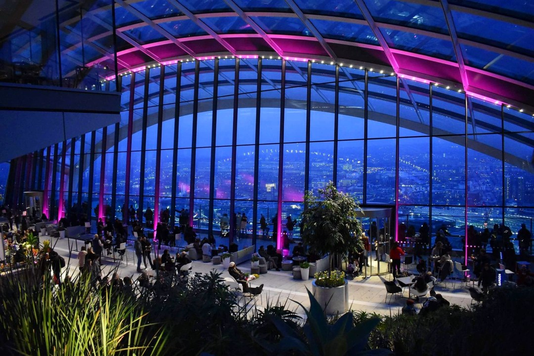Darwin Brasserie at The Sky Garden