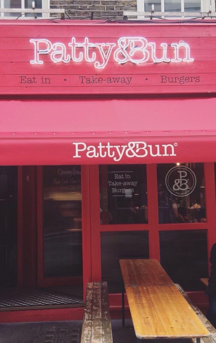 Patty and Bun, London