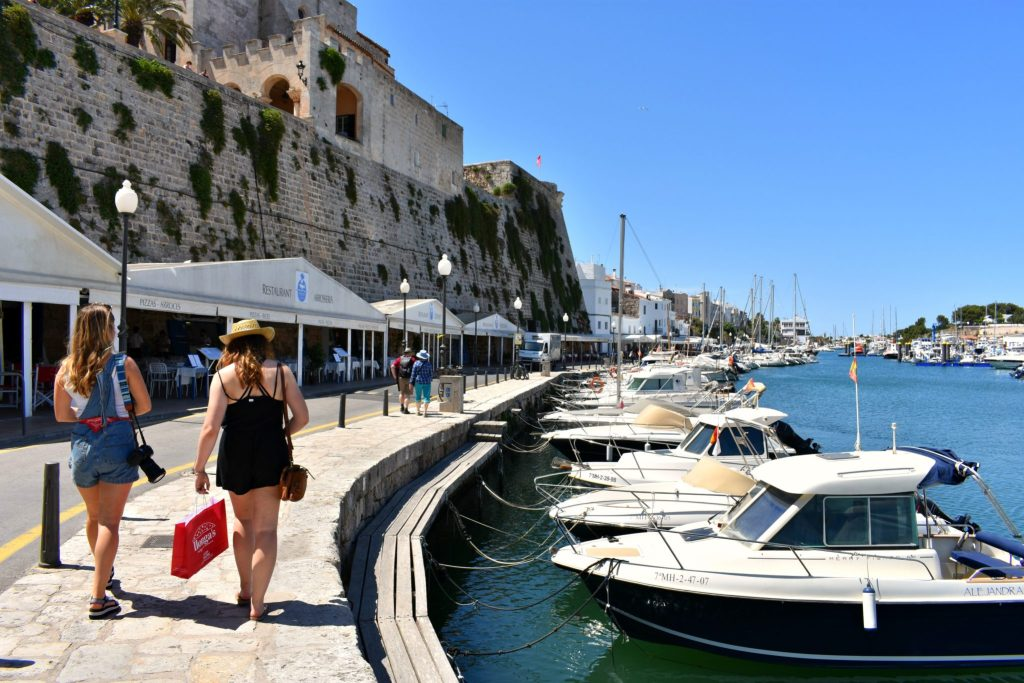 Menorca Spain, Ciutadella Harbour
