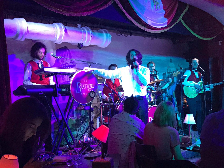 House Band The Bunga Boys at Bunga Bunga Covent Garden