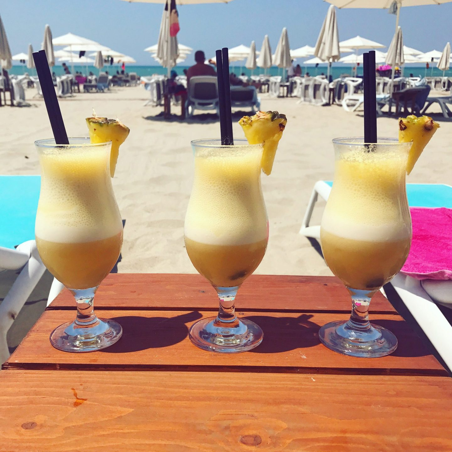 A weekend on the beach in Durres, Albania!