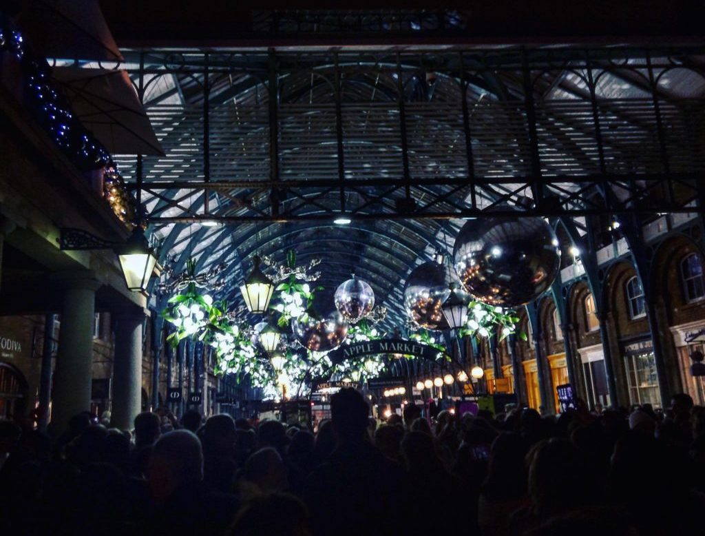 Covent Garden London Christmas Lights