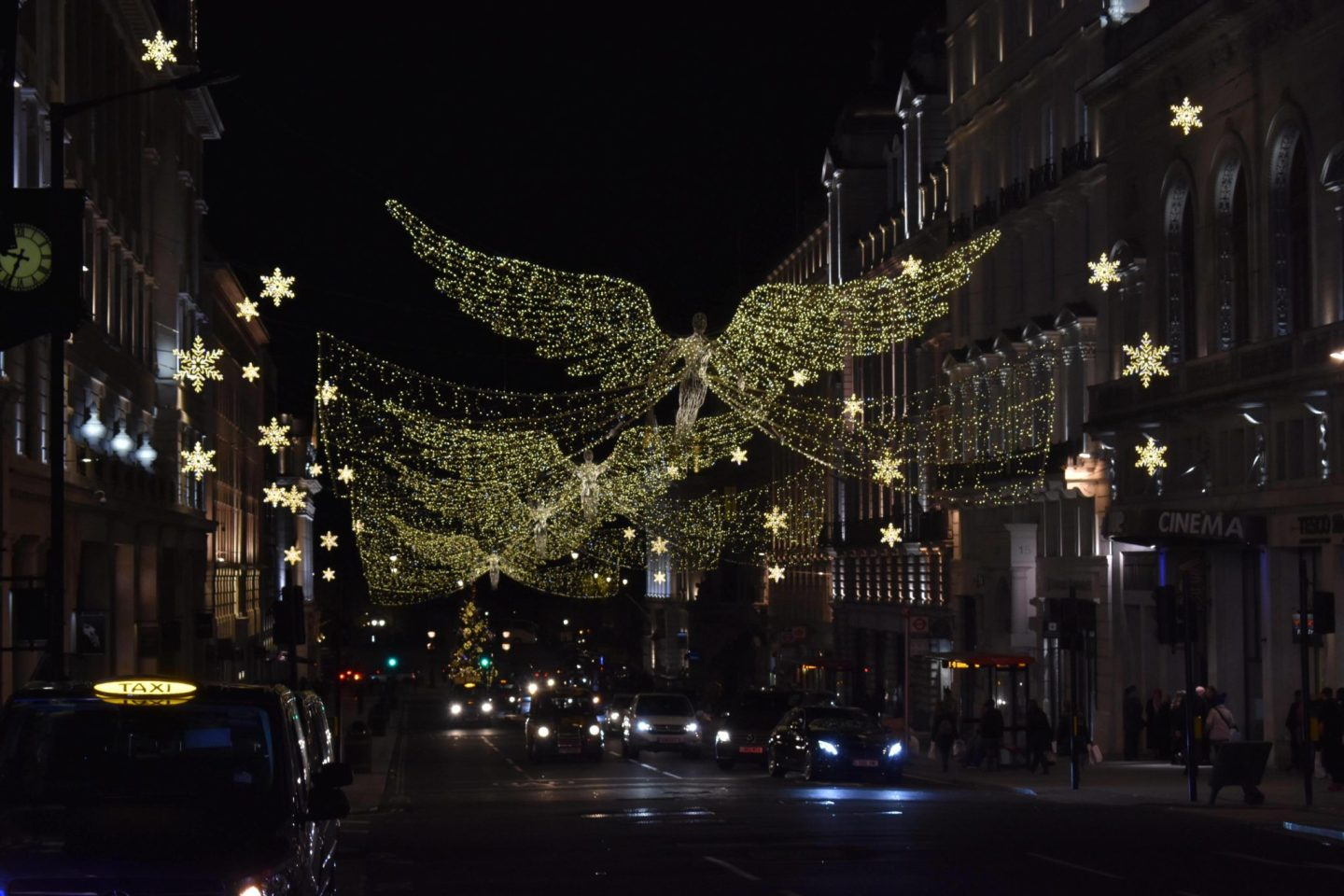 Regent Street London Christmas Lights