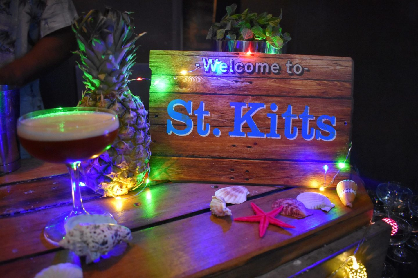 St Kitts Cocktail Event