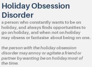 Holiday Obsessive Disorder