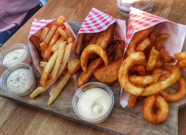 Fries at Boca's Amsterdam