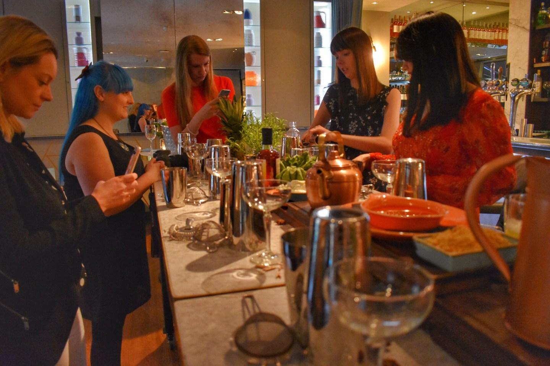Devonshire Terrace Cocktails