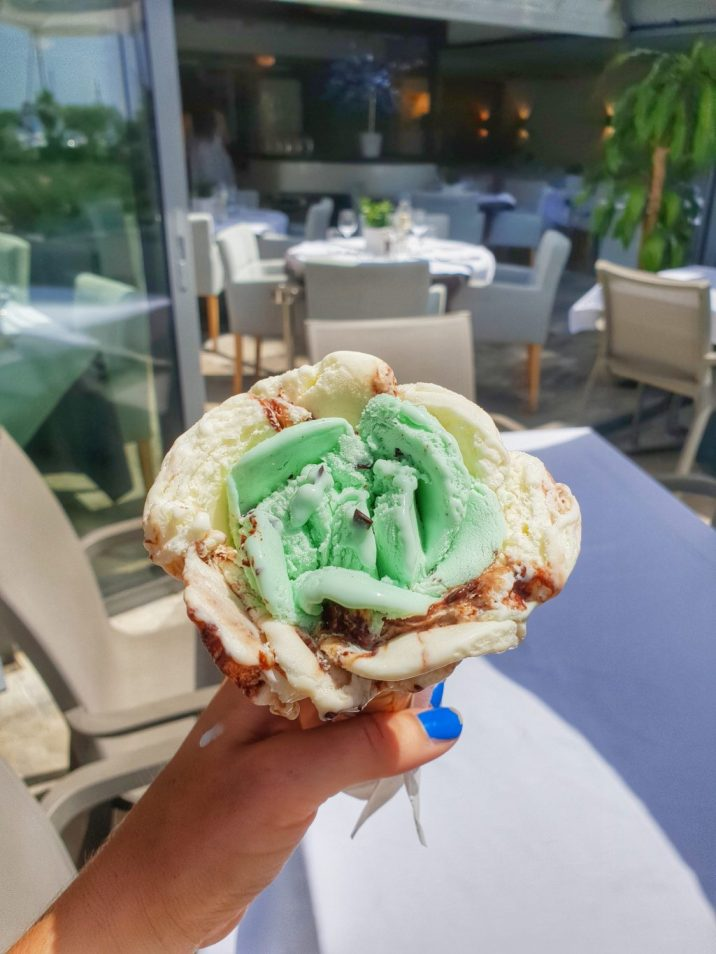 Ice-Cream in Sainte Maxime, French Riviera