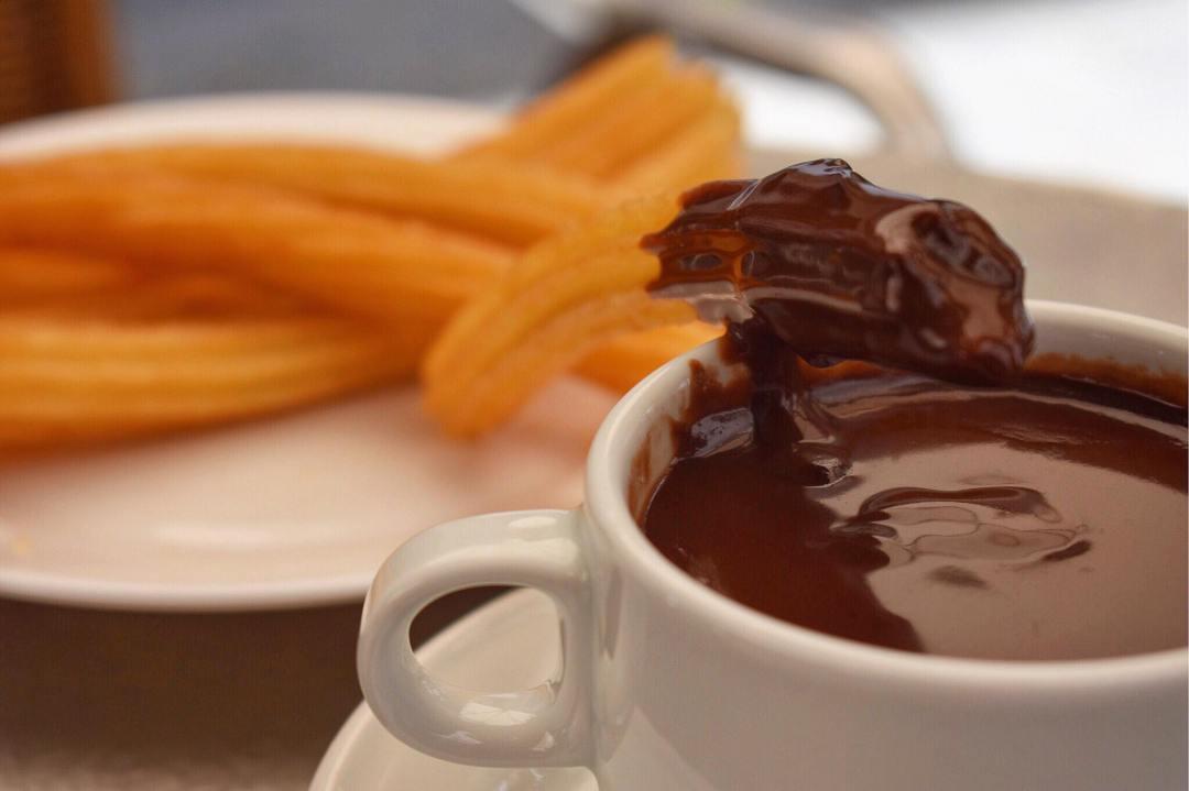 European Snacks Churros Choco San Gines Madrid