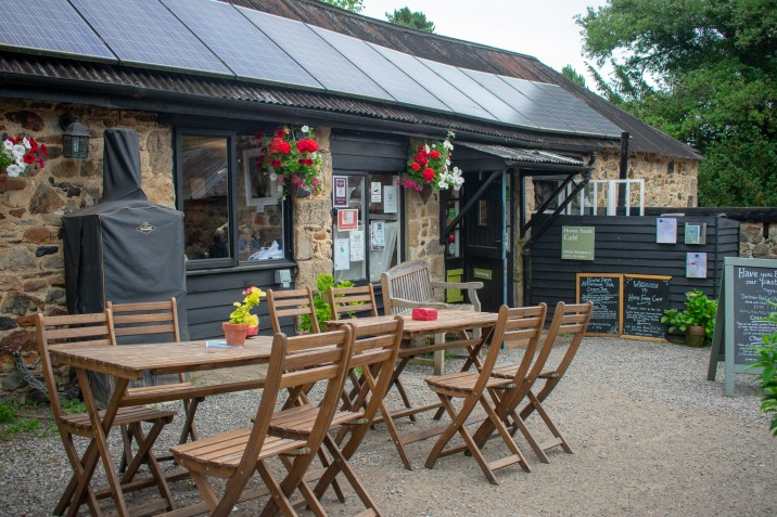Dog Friendly Days Out in Devon Home Farm Cafe Parke National Trust